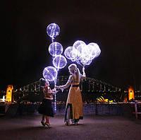"""Светящиеся шарики-с герляндой""""BOBO-ОПТОМ"""