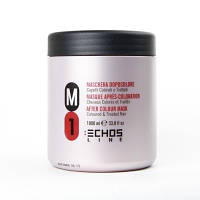 Маска M1 для окрашенных и поврежденных волос ECHOSLINE, 500 мл