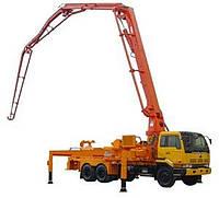 Аренда авто-бетононасоса (стрелка до 22 метров), фото 1