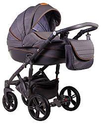 Детская коляска универсальная 2 в 1 Adamex Prince X-5 (Адамекс Принц, Польша)