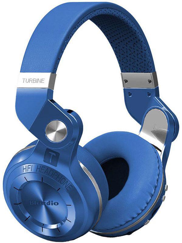 Наушники Bluedio T2 Plus Blue (AIR18)