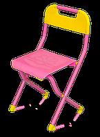 Яркий складной пластмассовый стульчик для малыша от 3 лет – добавьте цвета в детскую комнату!