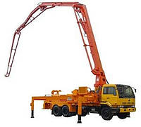 Аренда авто-бетононасоса (стрелка до 24 метров)