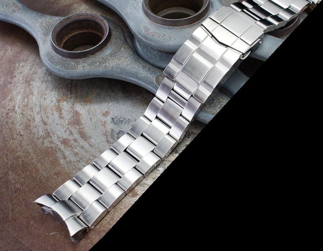 22 мм Super 3D Oyster 316L стальной браслет для Seiko SKX007, SKX009, SKX011.