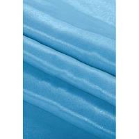 Монорей, портьерная ткань  голубой