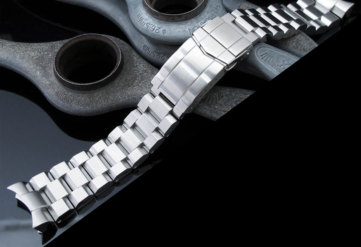 22 мм Hexad Oyster 316L стальной браслет для Seiko SKX007, SKX009, SKX011.