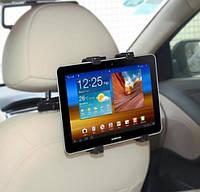 """Автомобильный держатель на подголовник для планшета с экраном от 8"""" до 12.9"""" дюймов, черный цвет, фото 1"""