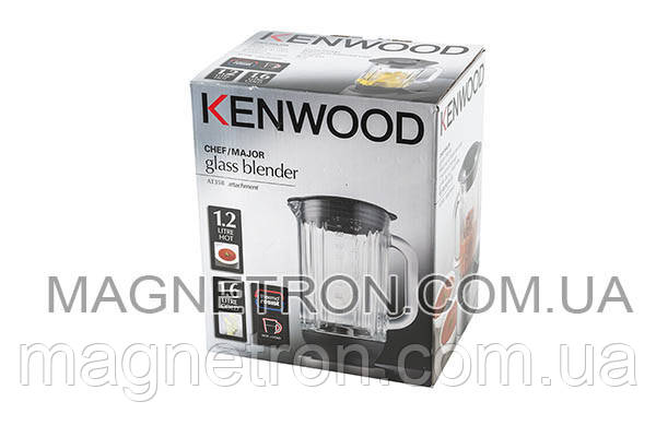 Чаша для блендера 1600ml KAH358GL кухонного комбайна Kenwood AW22000002 (AWAT358001), фото 2