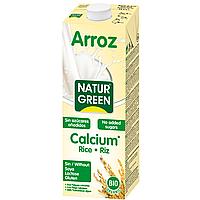 Рисовое молоко без сахара с кальцием NaturGreen 1 л