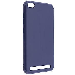 TPU чехол Metal для Xiaomi Redmi 5A (Синий), фото 2