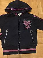 Трикотажный костюм-двойка для девочек оптом, F&D, 4-12 лет, арт. S-6024, фото 5