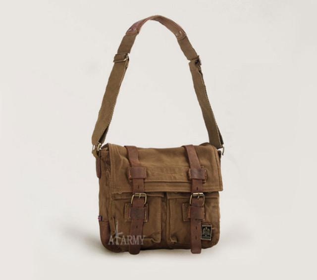 Мужская сумка Army коричневая