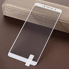 Стекло Full Coverage для Xiaomi S2 цвет White