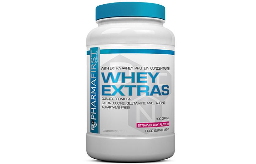 Протеин Pharma First Whey Extra's 900 g. (ВАНИЛЬ)