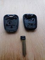 Корпус ключа для Citroën Berlingo (Ситроен Берлинго),2 кнопки, со  съмным лезвием