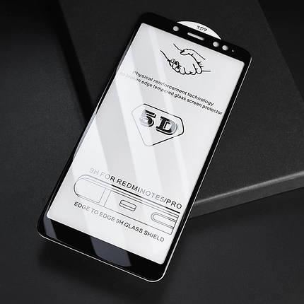Стекло Full Coverage 5D Xiaomi Redmi Note 5 / 5 Pro цвет Black, фото 2