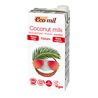 Кокосовое молоко без сахара Ecomil 1 л