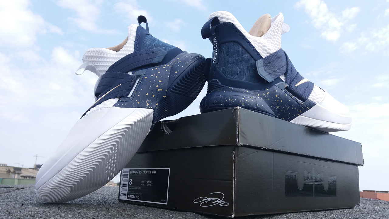 reputable site f9229 a9324 Кроссовки Nike LeBron Zoom Soldier XII