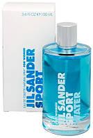 Женская туалетная вода Jil Sander Sport Water (освежающий цветочно-водяной аромат)  копия