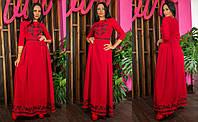 Красивое женское платье Узоры, фото 1