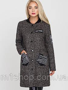 Молодежное женское осенне-весеннее пальто (Нью-Йорк leo)