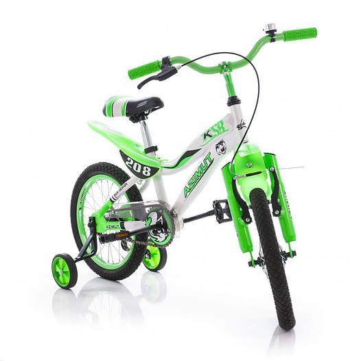 Детский велосипед Azimut KSR Premium 16 (рекомендуем!)
