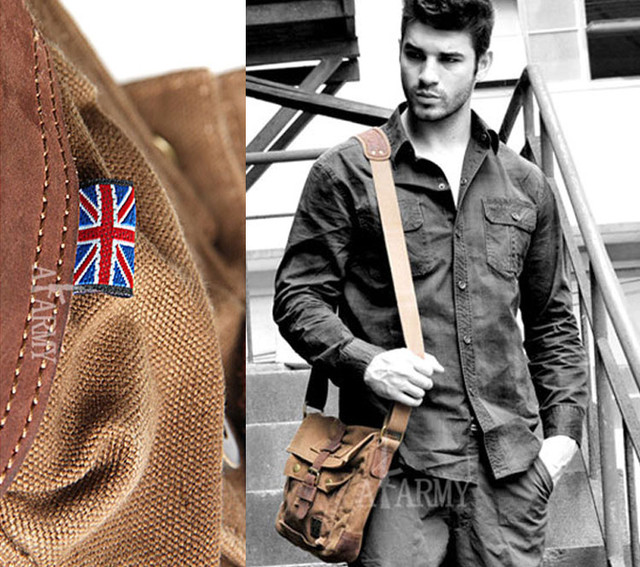 Мужская сумка Army в стиле милитари