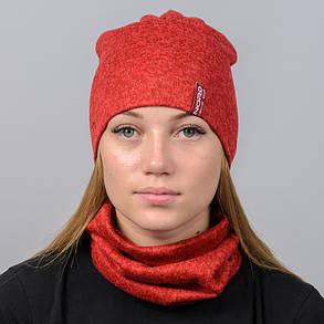 """Комплект """"Ангора"""" шапка+баф, фото 2"""