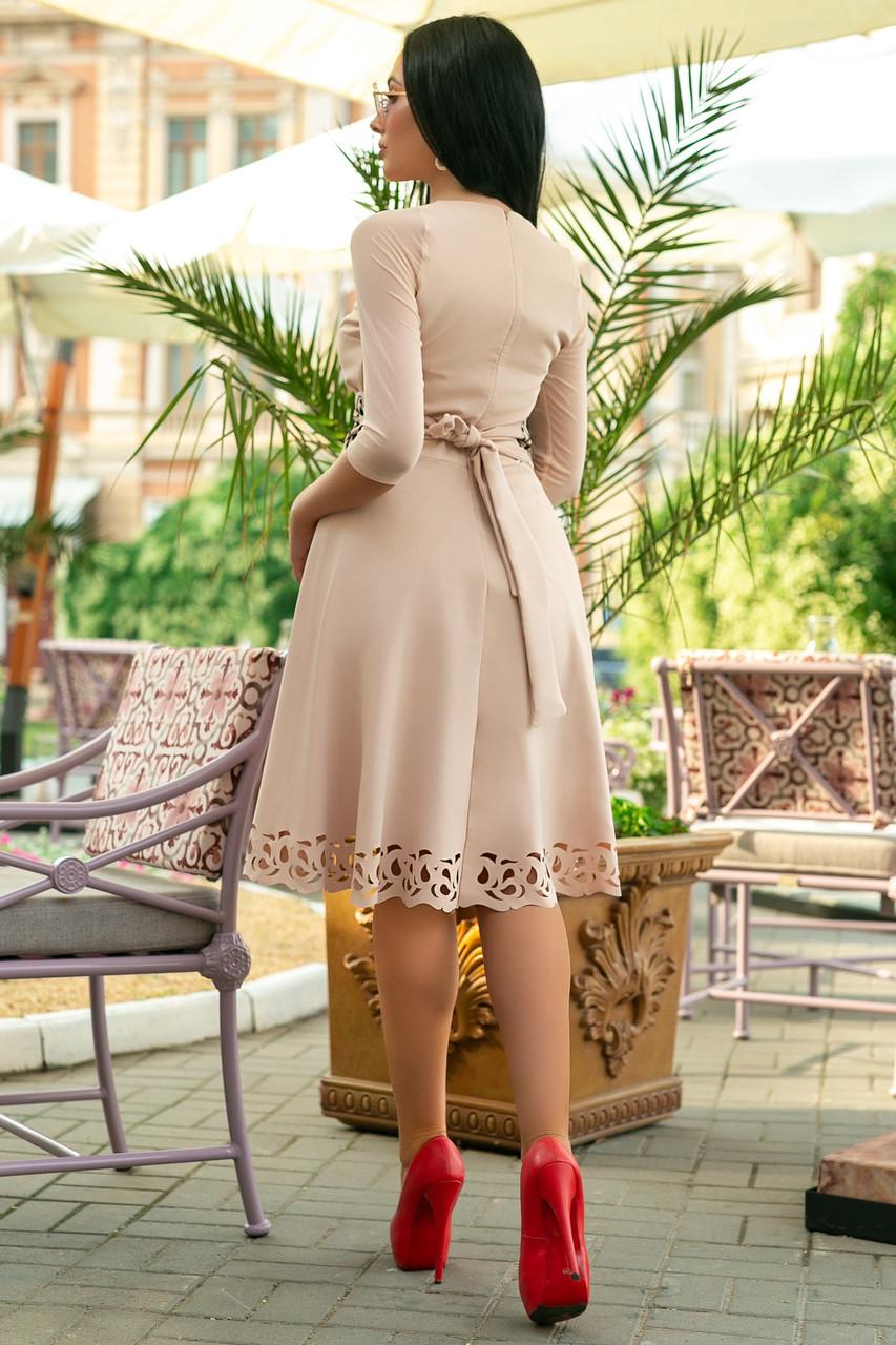 Женское платье батал Мирабель