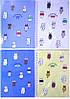 """Тетрадь на спирале А4 №16K-971 50листов """"Коты-Special time"""" обложка ПВХ, 70г/м2, клетка  26х19см уп12"""