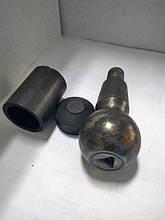 Палец рулевой КрАЗ +2 сухаря выпуск до 2000г. (Херсон) 200-3003065-А2
