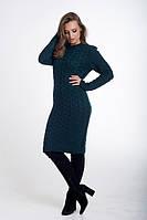 Платье женское облегающее зеленое. , фото 1