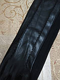 (50cm)Длинные трикотаж с кожа женские перчатки только оптом, фото 3