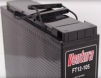 Промышленный фронтальный аккумулятор Ventura FT12-105 12В 105А/ч, фото 1