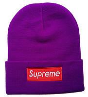 Шапка Supreme violet