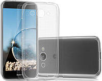 Чехол-накладка TOTO TPU case High clear Huawei Y3 2017 Transparent #I/S