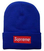 Шапка Supreme blue