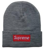 Шапка Supreme grey