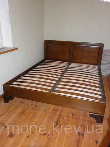 """Кровать """"Еней"""" из натурально дерева двуспальная, фото 2"""