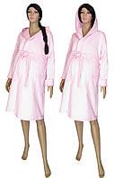 NEW! Теплые хлопковые стеганные халаты в роддом - серия Kapiton Light Pink ТМ УКРТРИКОТАЖ!