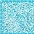 Текстурный мат для гибкой глазури SUGARVEIL размер 27х40см