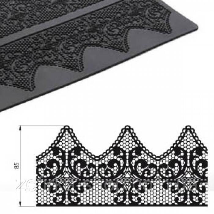 Силиконовый коврик Кружево, одна полоса