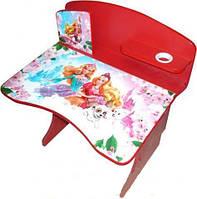 Современный комплект детской мебели - парта и стульчик «принцесса» - функциональность и креативный дизайн