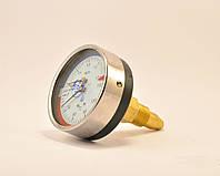 Манометр с термометром (термоманометр) ДМТ 05080 1,6 мПа 150°C осевой с поверкой