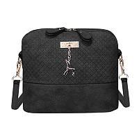 Черная сумочка через плечо, фото 1