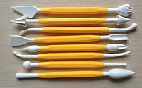 Набор инструментов для лепки и моделирования, стеки