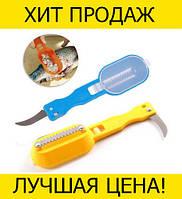 Скребок для чистки рыбы Killing fish sharpener, фото 1