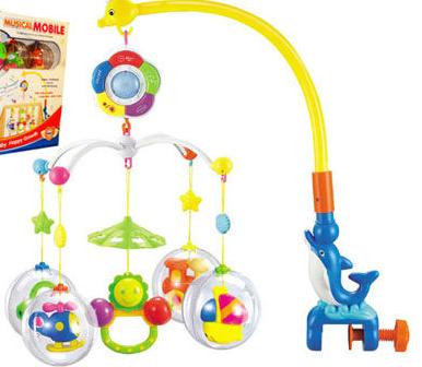 """Мобиль на кроватку """"Цветные сны"""" Limo Toy M1362"""