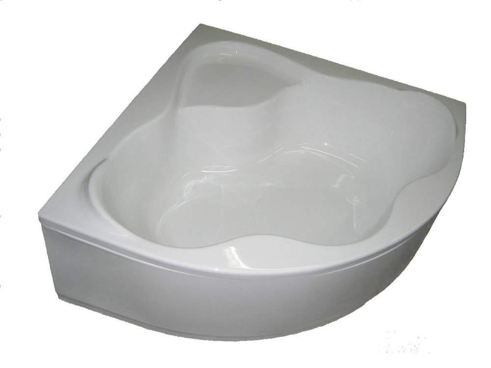 Угловая акриловая ванна Bisante Мона 1500х1500х610 мм