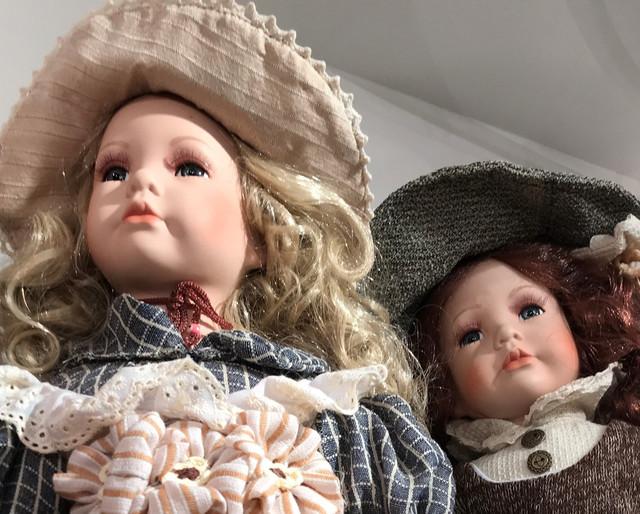 Куклы коллекционные фарфоровые